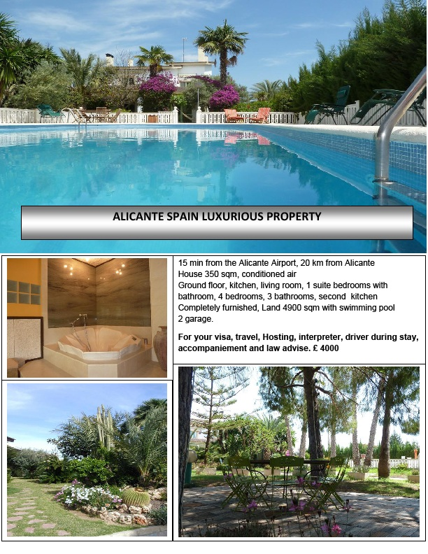 alicante luxury villa