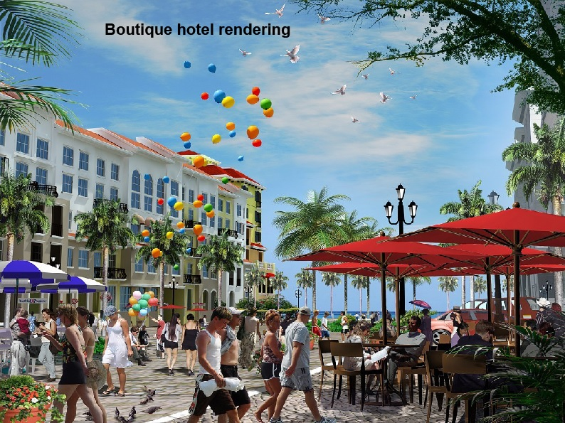 BOUTIQUE HOTEL RENDERING
