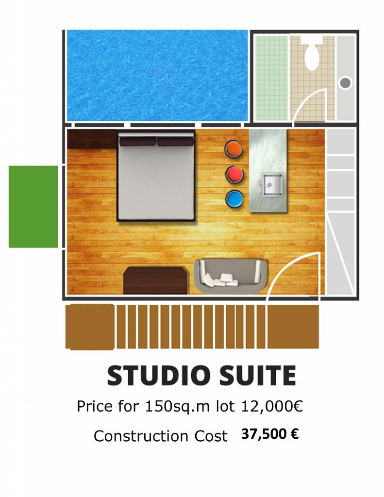 studio for sale in Greece